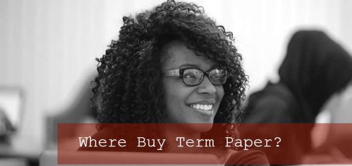 Where to buy term papers